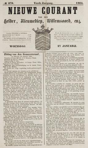 Nieuwe Courant van Den Helder 1864-01-27