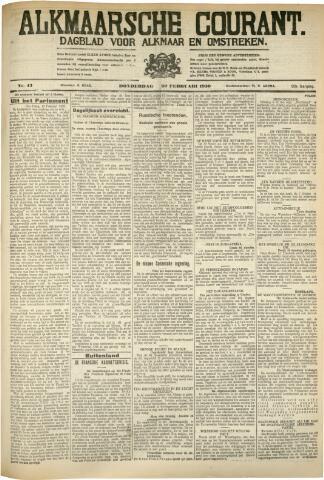 Alkmaarsche Courant 1930-02-20