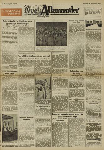 De Vrije Alkmaarder 1947-11-04