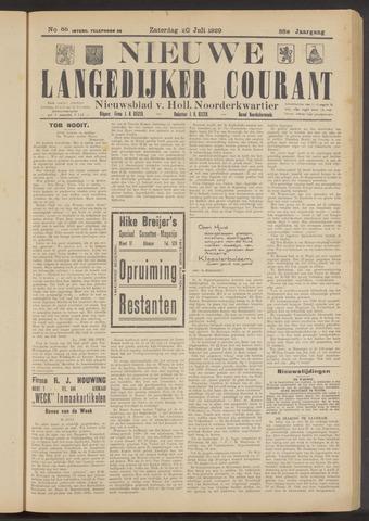 Nieuwe Langedijker Courant 1929-07-20