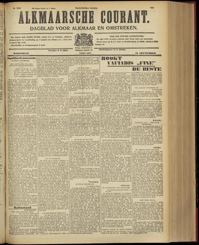Alkmaarsche Courant 1928-09-12