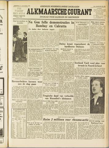 Alkmaarsche Courant 1955-08-17