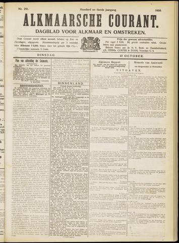 Alkmaarsche Courant 1908-10-27