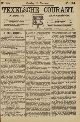 Texelsche Courant 1894-11-25