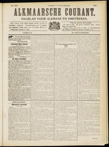 Alkmaarsche Courant 1908-09-25