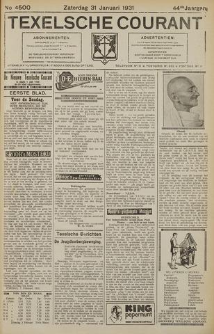 Texelsche Courant 1931-01-31