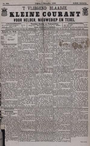 Vliegend blaadje : nieuws- en advertentiebode voor Den Helder 1880-12-03