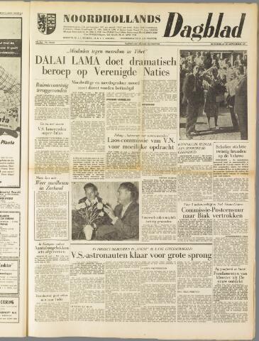 Noordhollands Dagblad : dagblad voor Alkmaar en omgeving 1959-09-10