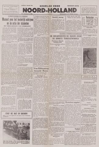 Dagblad Noord-Holland, Schager editie 1943-03-02