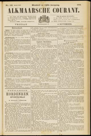 Alkmaarsche Courant 1903-11-06