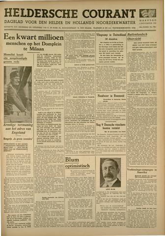 Heldersche Courant 1936-11-02