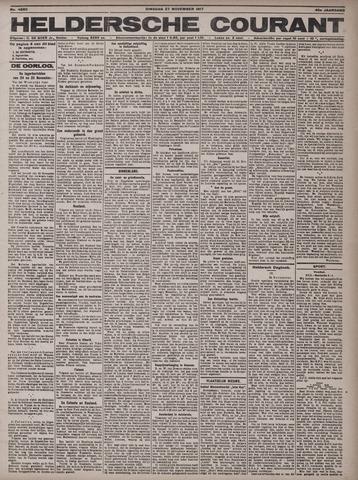 Heldersche Courant 1917-11-27