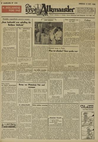 De Vrije Alkmaarder 1948-10-12