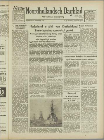 Nieuw Noordhollandsch Dagblad : voor Alkmaar en omgeving 1946-11-06