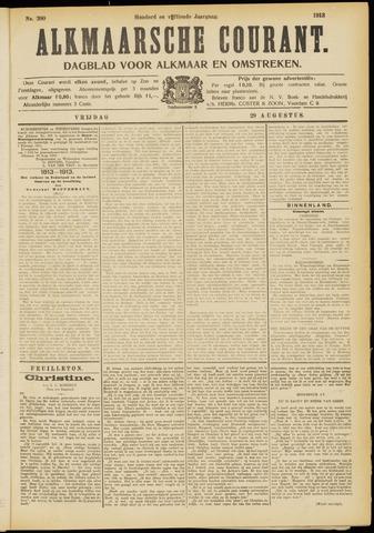 Alkmaarsche Courant 1913-08-29