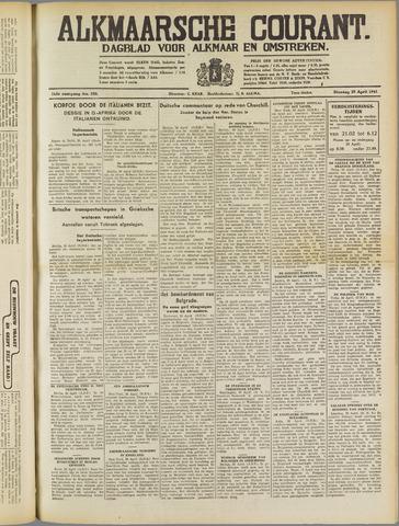 Alkmaarsche Courant 1941-04-29