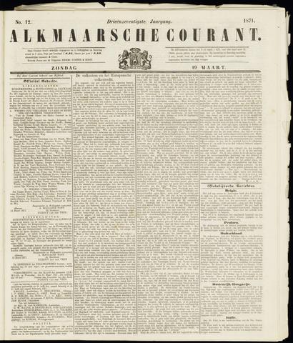 Alkmaarsche Courant 1871-03-19