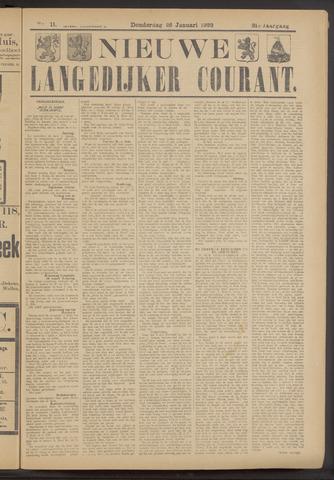 Nieuwe Langedijker Courant 1922-01-26
