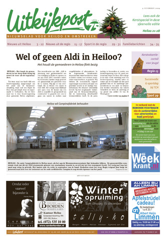 Uitkijkpost : nieuwsblad voor Heiloo e.o. 2009-12-09