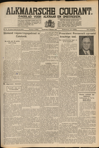 Alkmaarsche Courant 1939-02-02