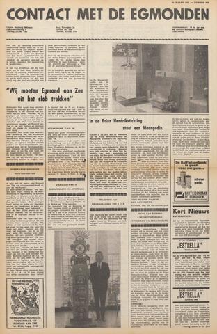 Contact met de Egmonden 1971-03-24