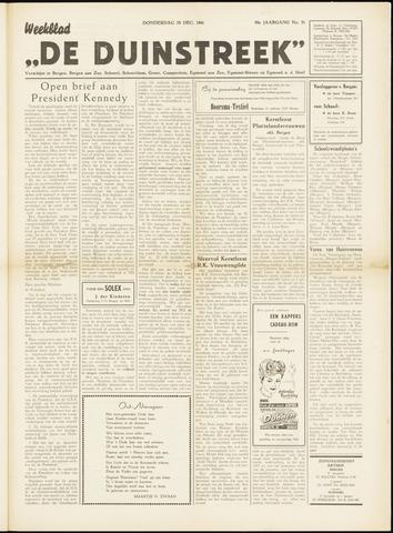 De Duinstreek 1961-12-28
