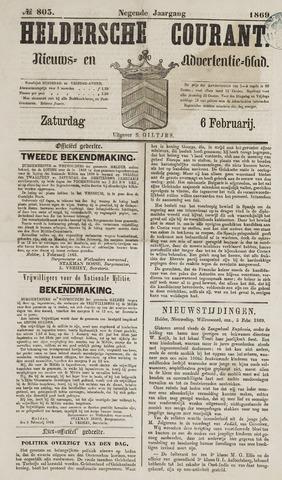 Heldersche Courant 1869-02-06