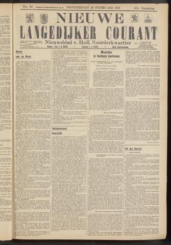 Nieuwe Langedijker Courant 1931-02-26