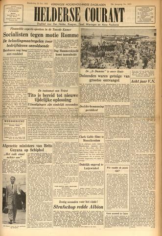 Heldersche Courant 1953-10-22