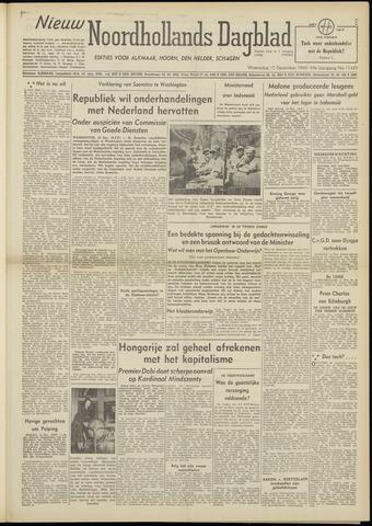 Nieuw Noordhollandsch Dagblad : voor Alkmaar en omgeving 1948-12-15