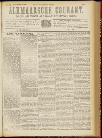 Alkmaarsche Courant 1916-04-20