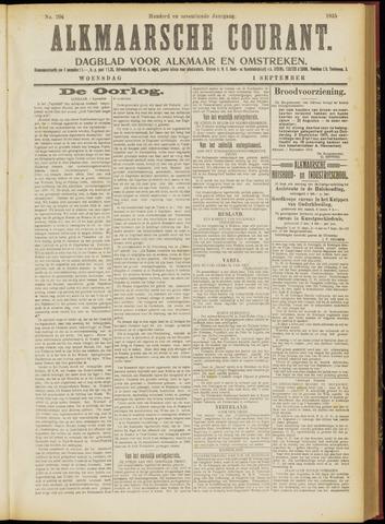 Alkmaarsche Courant 1915-09-01