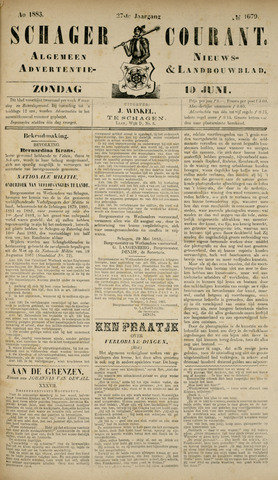 Schager Courant 1883-06-10