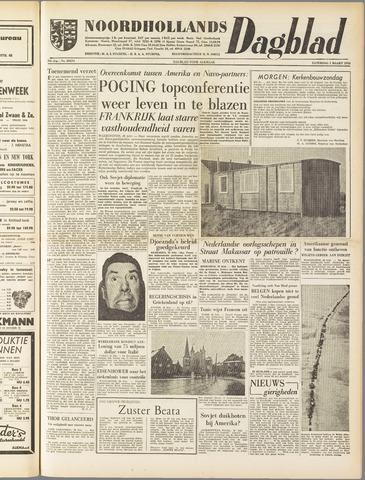 Noordhollands Dagblad : dagblad voor Alkmaar en omgeving 1958-03-01