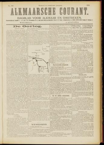 Alkmaarsche Courant 1915-08-04