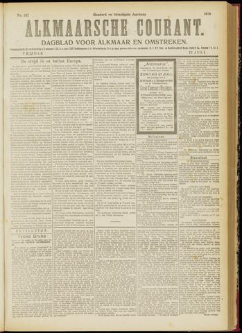 Alkmaarsche Courant 1918-07-12