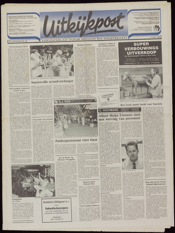 Uitkijkpost : nieuwsblad voor Heiloo e.o. 1992-06-17