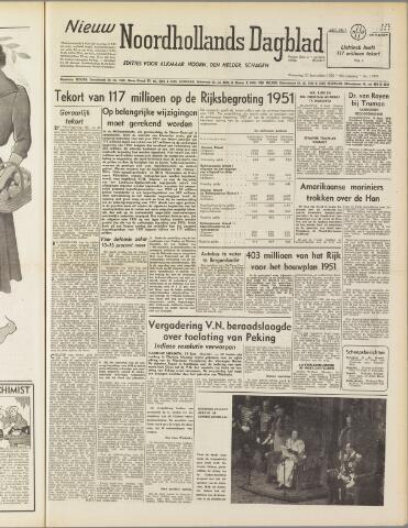 Nieuw Noordhollandsch Dagblad : voor Alkmaar en omgeving 1950-09-20