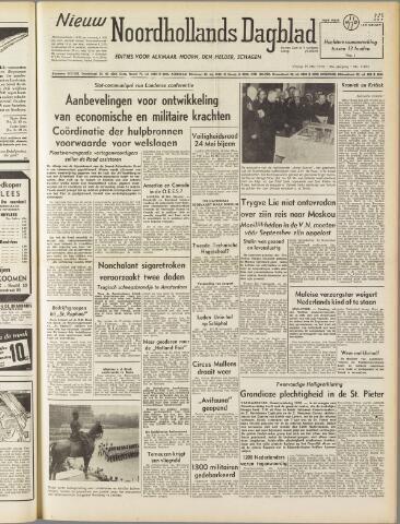 Nieuw Noordhollandsch Dagblad : voor Alkmaar en omgeving 1950-05-19