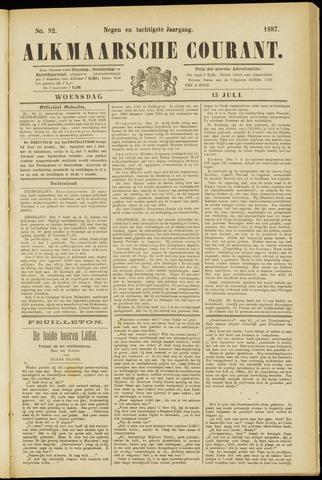 Alkmaarsche Courant 1887-07-13