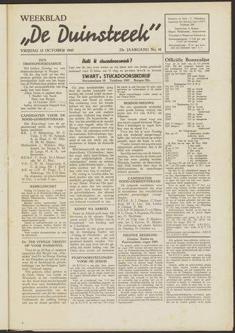 De Duinstreek 1945-10-12