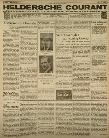Heldersche Courant 1936-01-23