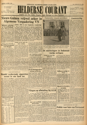 Heldersche Courant 1955-09-30