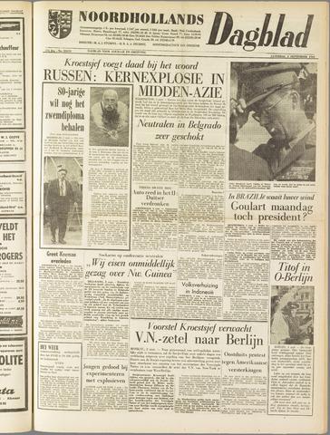 Noordhollands Dagblad : dagblad voor Alkmaar en omgeving 1961-09-02