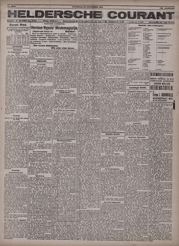 Heldersche Courant 1918-11-30