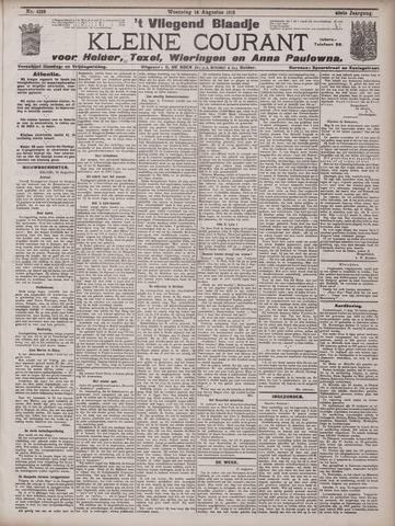 Vliegend blaadje : nieuws- en advertentiebode voor Den Helder 1912-08-14