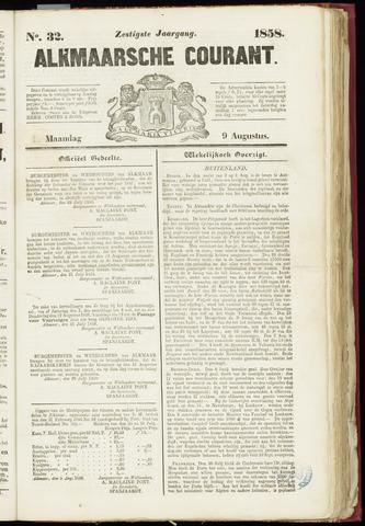 Alkmaarsche Courant 1858-08-09