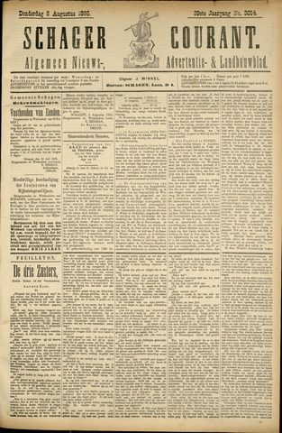 Schager Courant 1895-08-08
