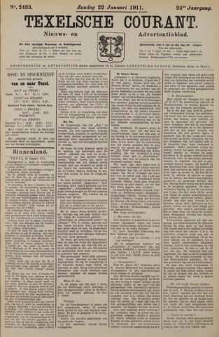 Texelsche Courant 1911-01-22