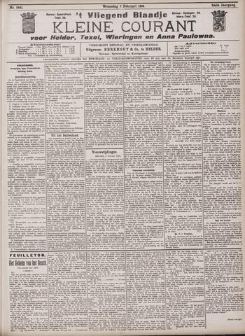 Vliegend blaadje : nieuws- en advertentiebode voor Den Helder 1906-02-07